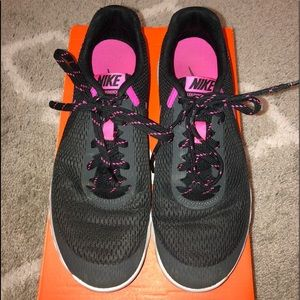 Nike Shoes - Pink and gray women's nike shoes